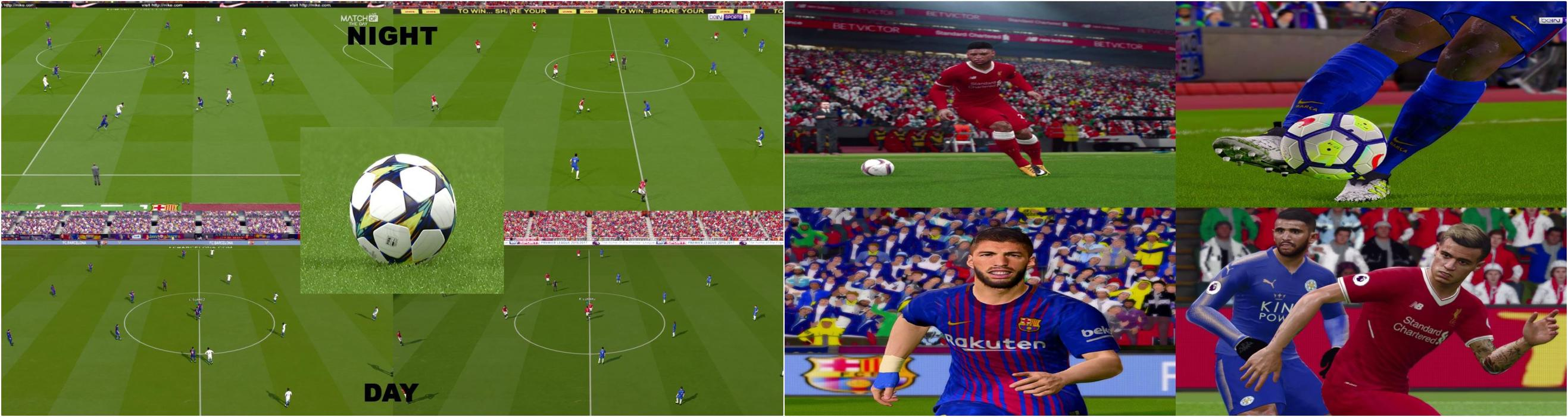 PES 17 Graphic Pack Like PES 18