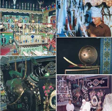 في مدينة ألكاظمية ألمقدسة عائلة تحول بيتها إلى متحف!! / علي ناصر الكناني