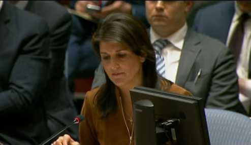 الولايات المتحدة: سنرد على هجوم دوما الكيميائي مهما كان موقف مجلس الأمن