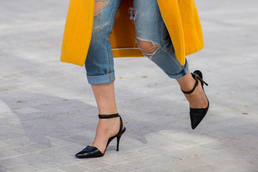 الأحذية المجنحة هي الاحدث لصيف 2018