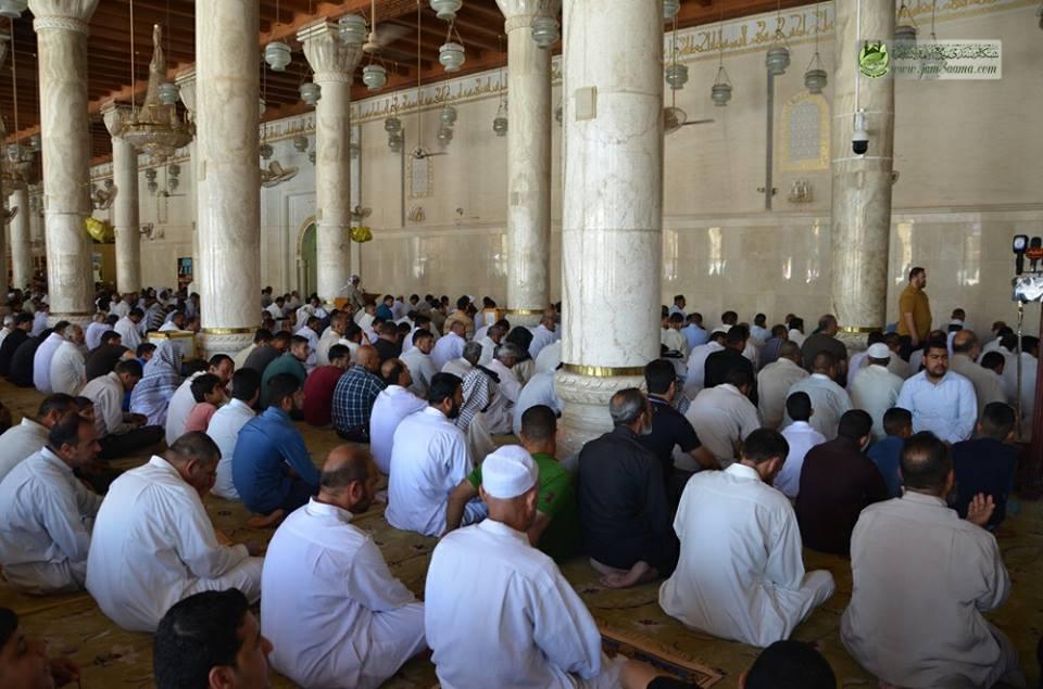 صلاة الجمعة المباركة مسجد الكوفة المعظم اليوم2018-5-18