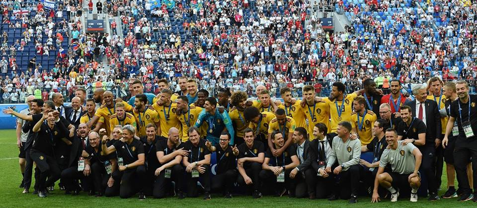 بلجيكا تهزم إنجلترا وتحقق المركز