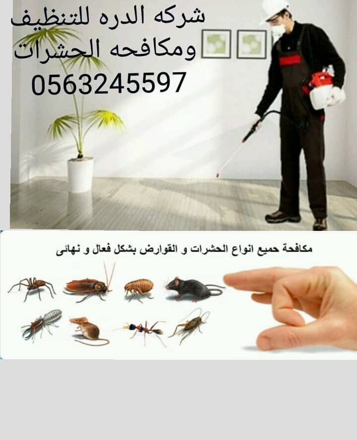 #افضل شركه تنظيف #ومكافحه حشرات بالامارات#الدره 958022514