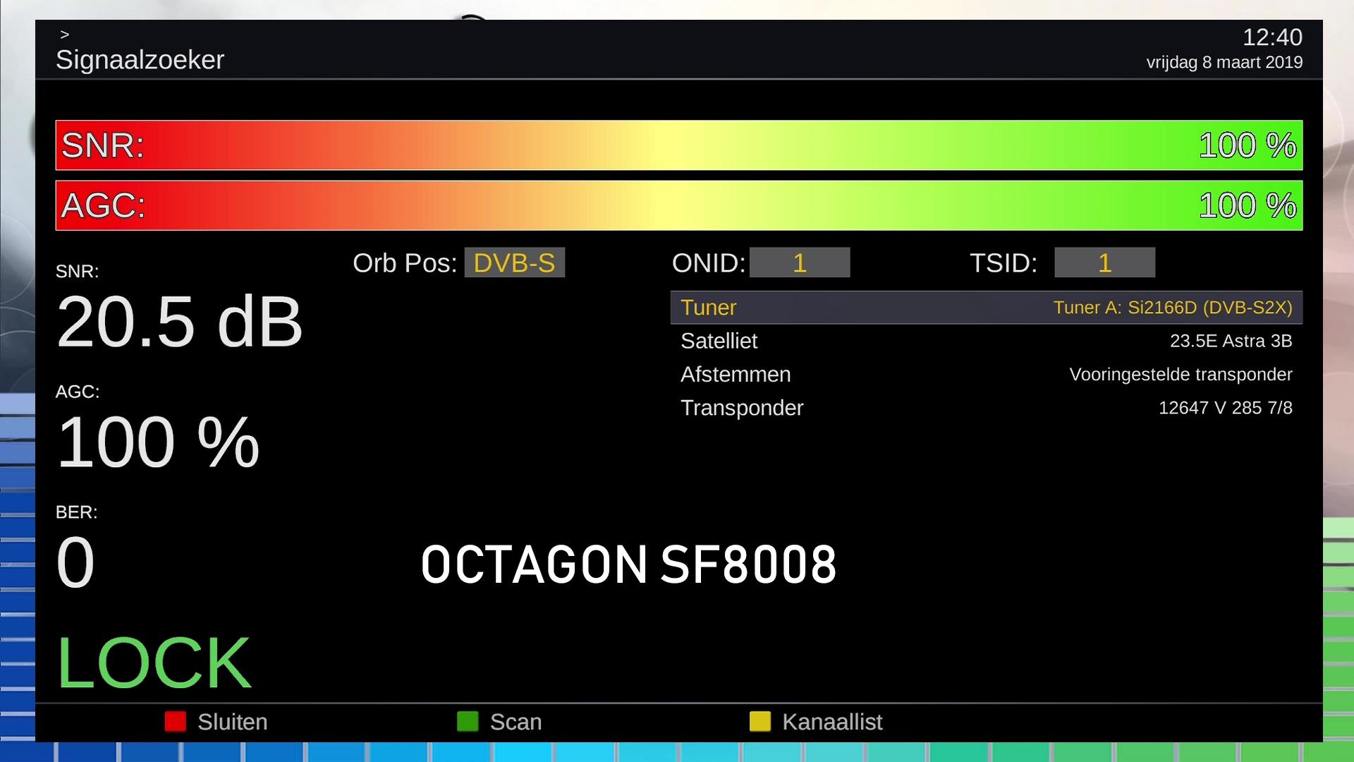 New Drivers for OCTAGON SF 8008 UHD