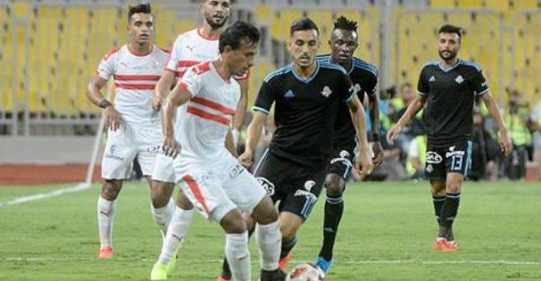 ملخص مباراة الزمالك وبيراميدز 2 0 الدوري المصري كورة شوت يلا