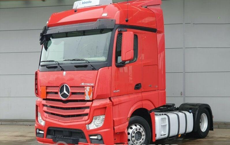 للبيع بمعرضنا بحالة فوق الممتازة شاحنه مرسيدس اكتروس 1845  mp4 موديل 2014 934881784